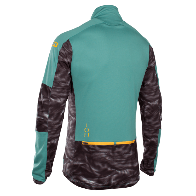 Tee Half ZIP LS Paze / sea green