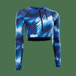 Amaze Shorty Rashguard LS / blue capsule