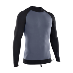 Neo Top Men 2/2 LS / steel blue/black